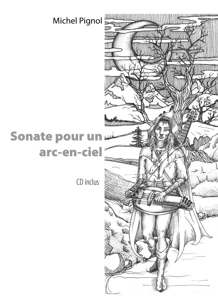 Jérôme joue de la vielle à roue électroacoustique