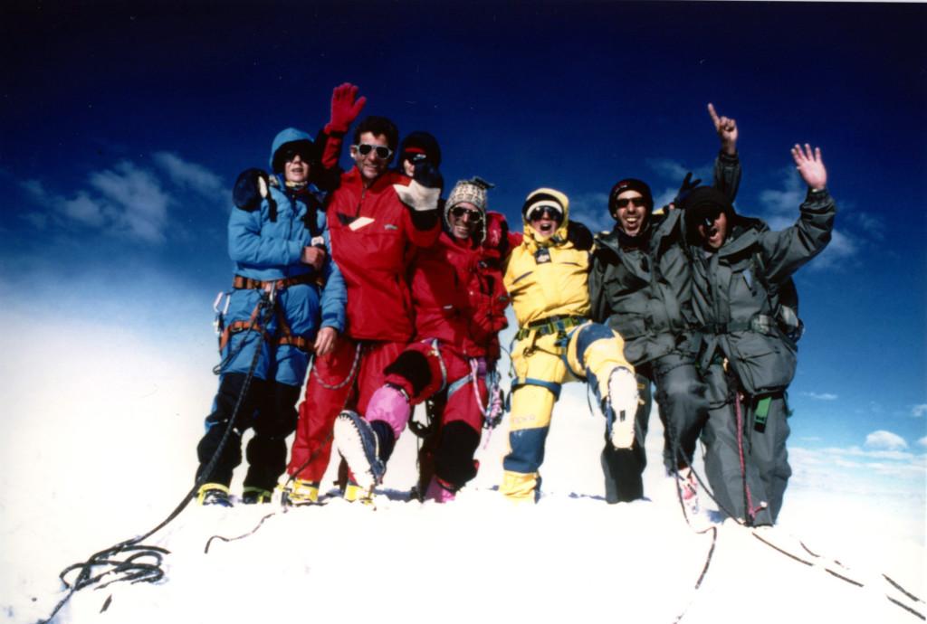 Le sommet du Névado Kopa 6200m