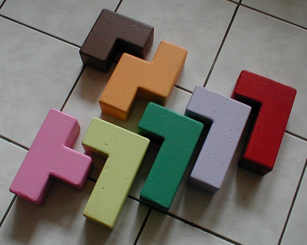 Les 7 pièces du jeu